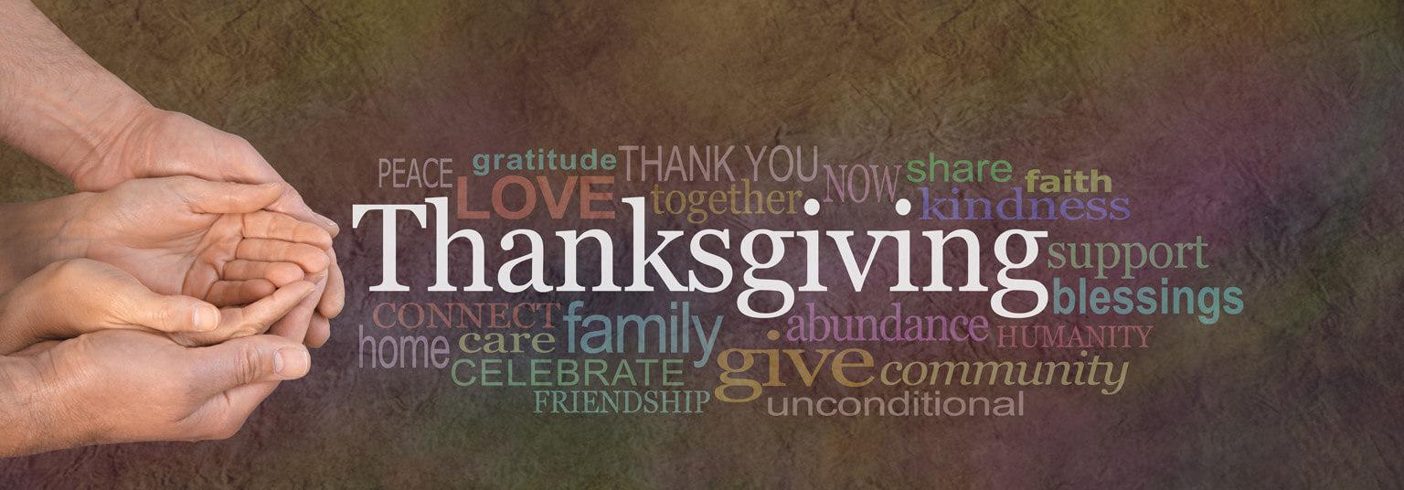 Thanksgiving word board